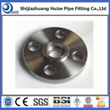 Carbon steel pipe socket weld flange