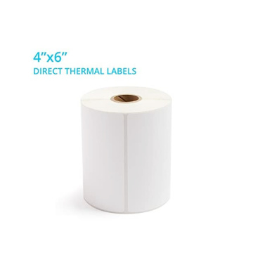 In stock thermal label 4x6 shipping address sticker