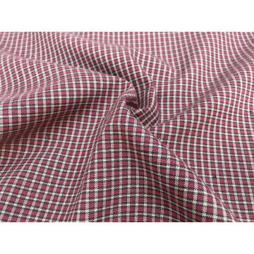 T/C Oxford Woven Yarn-dyed Plaid Fabric