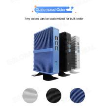 2019 Eglobal Fanless Barebone Mini Pc Core i5 5200u / i7 5500Uu / i5 6200u Win10 minipc Desktop Computer 4K HTPC minipc Nuc