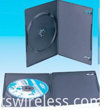 7mm Single Black Dvd Case2