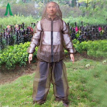 Outdoor Lightweight Anti Mosquito Net Body Suits