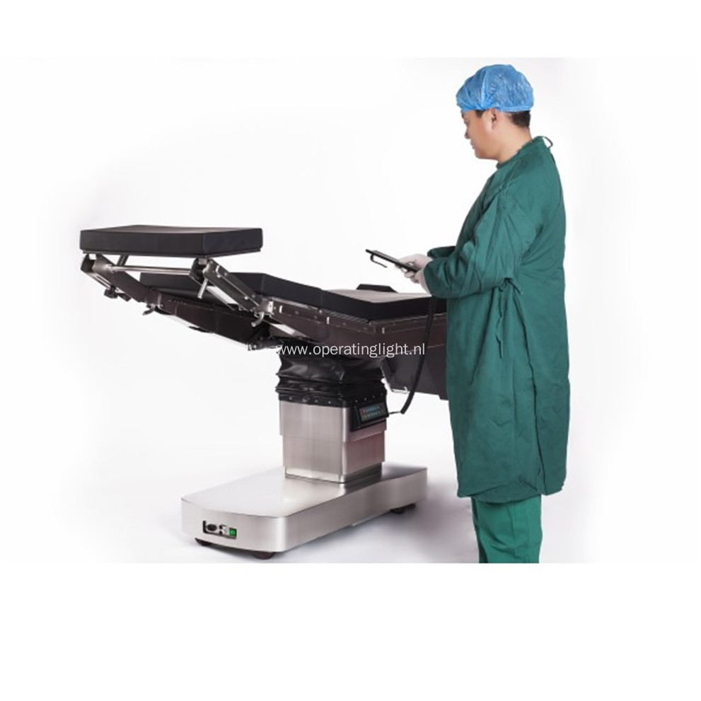 Electro hydraulic adjustments hand control OT table