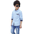 Boys Hot Selling Spring Autumn Cotton Long-sleeved Shirts