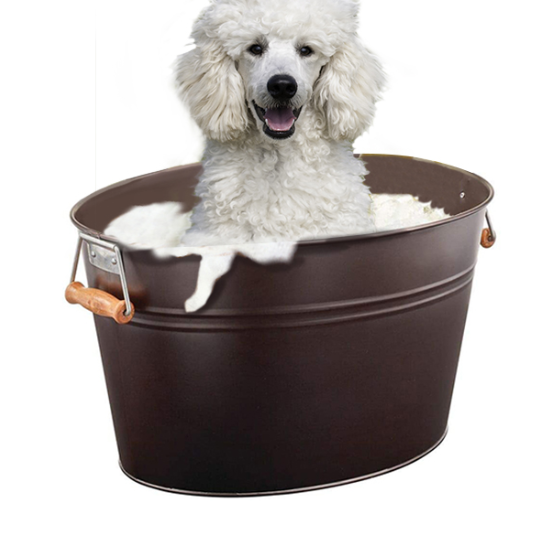 Metal Dog Bath Tub