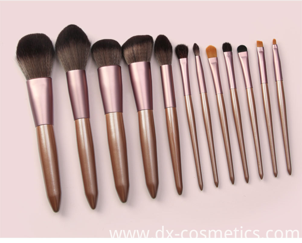 12 Pieces Grapelet Makeup Brush Set Hot11