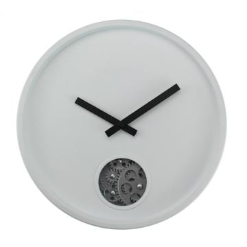 Plastic Gear Wall Clock With A Single Eye