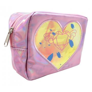 HEART LASER MAKEUP BAG-0