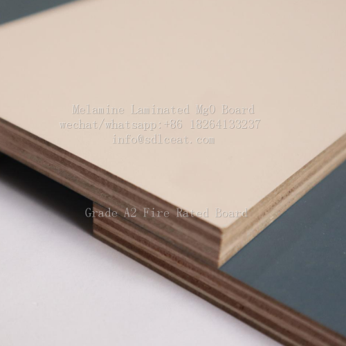 Grade A2 fire rated melamine decorative wall paneling