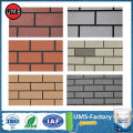 Exterior brick texture spray paint