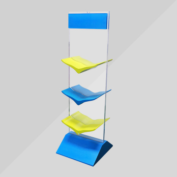 New design acrylic shoe shelf