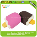 2.1*1.2*4cm 3d Popsicle Shaped Eraser