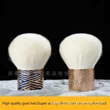 Goat hair face kabuki makeup brush powder brush
