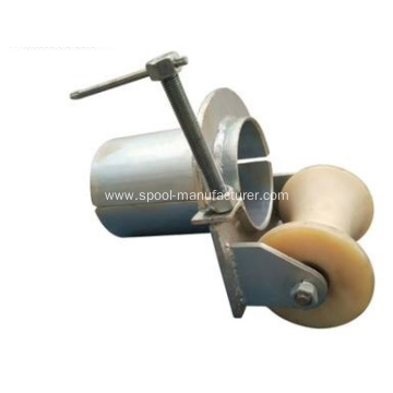 Bell Mouth with Roller Conduit Feed Roller