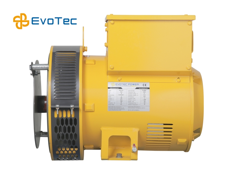 Yellow Color Electric Power Generator