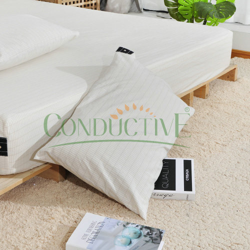 earthing Pillowcase 51cm x 76cm with earthing plug
