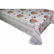 Elegant Tablecloth with Square Non woven backing