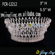 Full Round Beauty Queen Crowns Wholesale Cheap