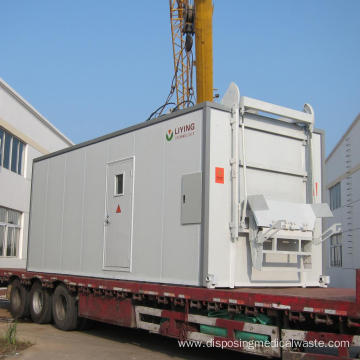 Hospital Waste Sterilizer With Microwave Disinfection