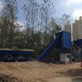 90m3 h belt type ready-mix concrete batching plant