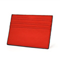 Wholesale Cheap Slim Saffiano Leather Credit Card Holder