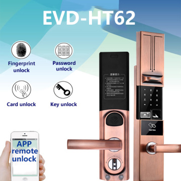 Remote control fingerprint door lock