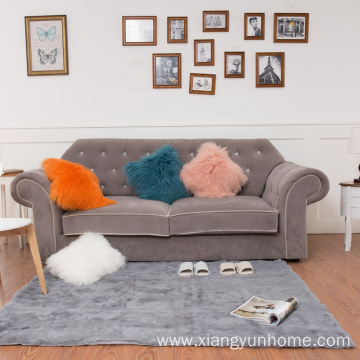Lamb Fur Pillow Double Sided Fur