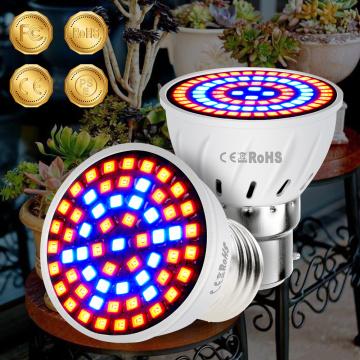 LED Plant Bulb E27 Seed Grow Lamp LED Full Spectrum Phyto Flower Growth Light Gu10 Hydroponics Lamp E14 Seedling Fito Light 220V