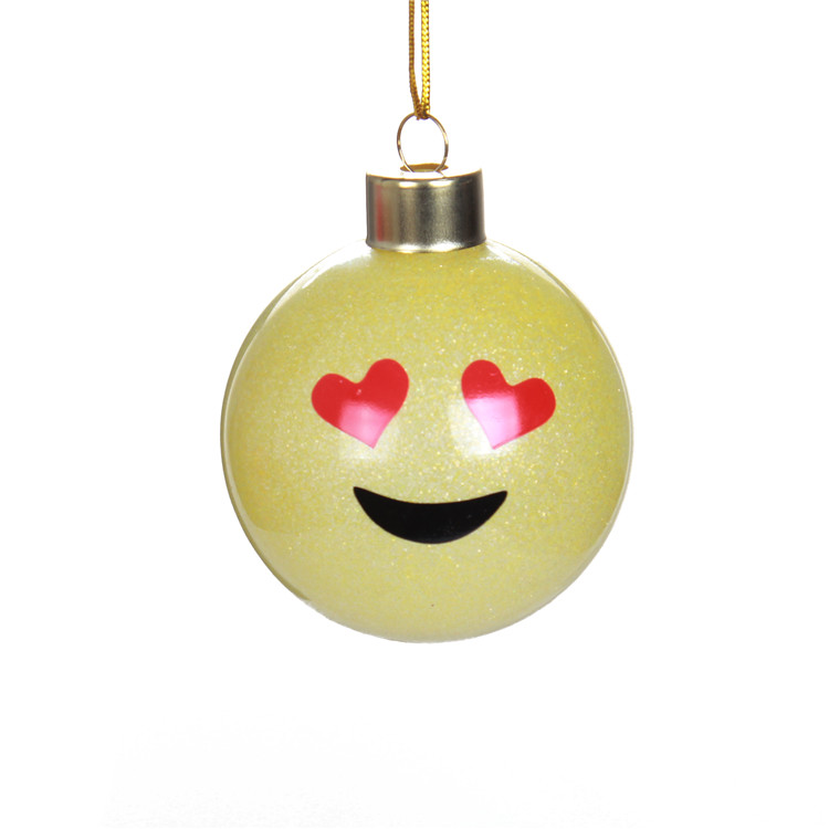 Christmas Ball With Emoji