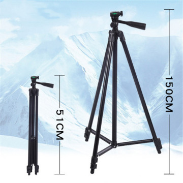 Professional Camera Tripod Stand Holder Mount for Canon Nikon Sony DSLR Camera Camcorder With Carrying Bag For Phone Camera