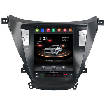 Tesla PX6 Android 9 Prif Uned Elantra 2011-2016