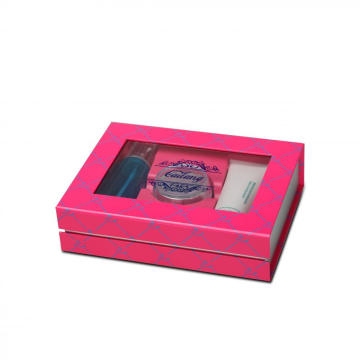 Skin Care Storage Box Packaging With Clear Window