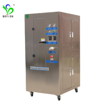 Automatic pneumatic Stencil cleaning machine SMT cleaner