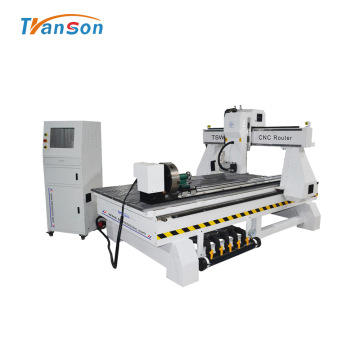 4 Axis CNC Router Spindle Swing 180 Degree