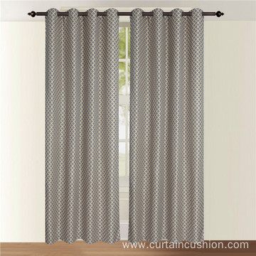 Curtain Jacquard Window Drapes Curtain