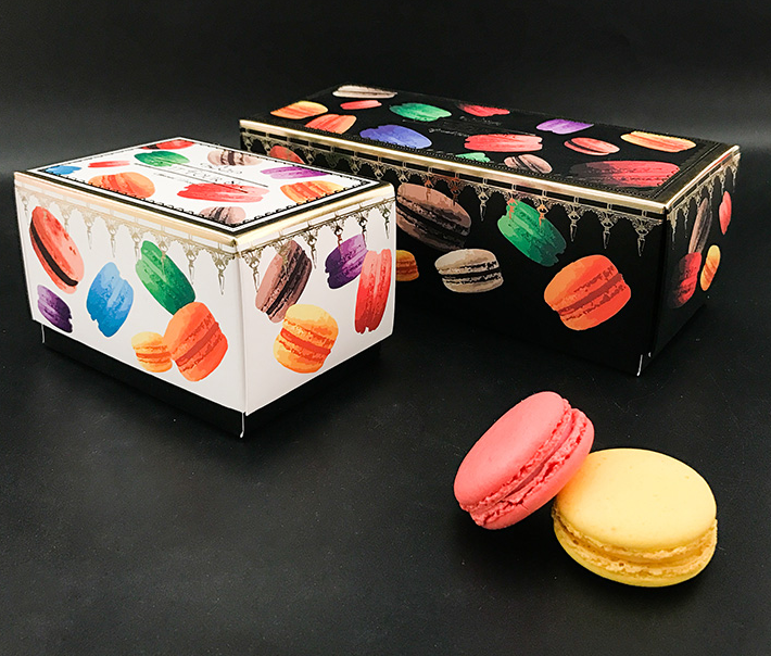 Luxury macaron packaging box
