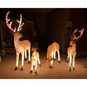 FRP Landscape Deer Lights
