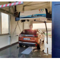 Automatic touchless robotic car wash equipment