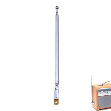 1pc TV Antenna Telescopic Antenna Aerial Replacement 765mm 7 Sections for Radio TV
