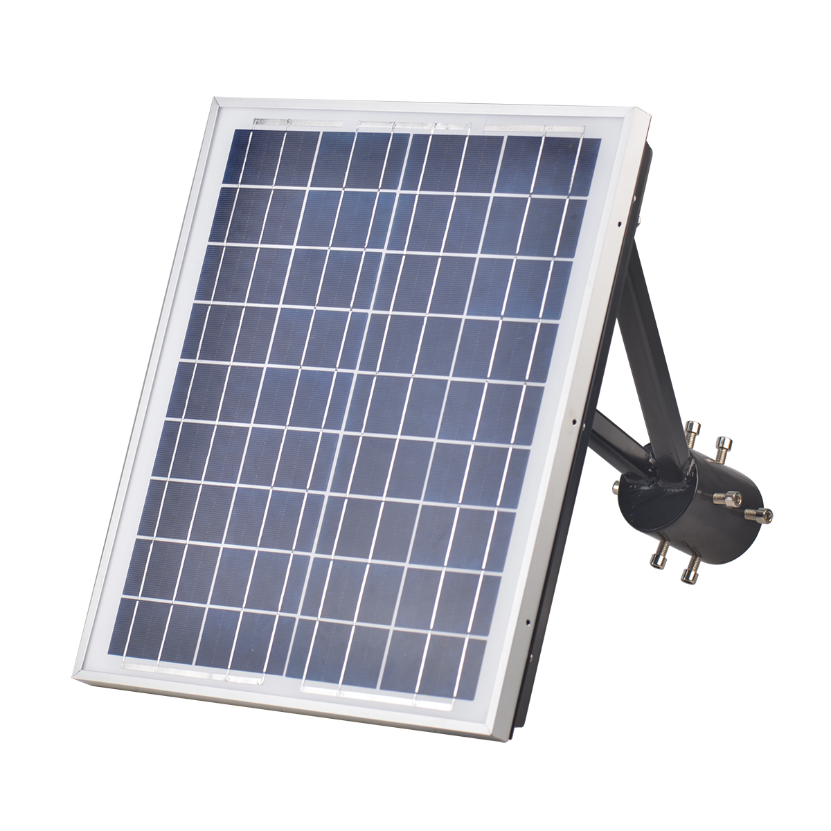 25W Square Solar led top light for gardens-4