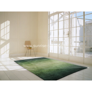 Microtiber thin yarn With gradient color Carpet