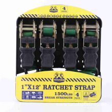 25MM Ratchet Lashing with Soft Rubber Handle