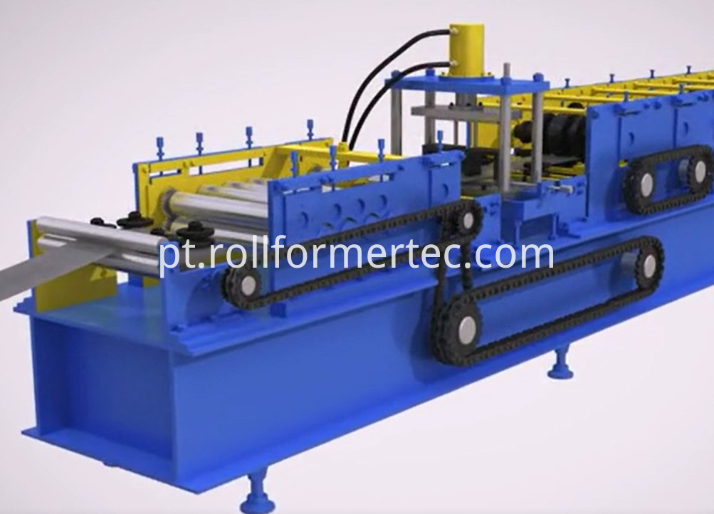 Plain Strut rollforming machine