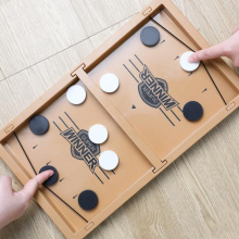 Fast Hockey Sling Puck Game Catapult Chess Interactive Game for Children Ice Hockey Game Kids Adults Funny Board Games