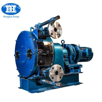 High viscosity industrial hose peristaltic pump
