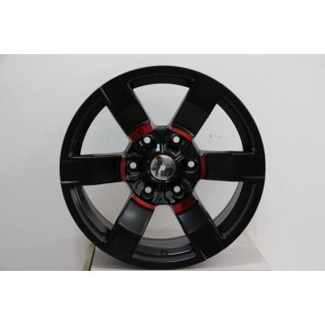 Matt Black 17x8.0 alloy wheel After market