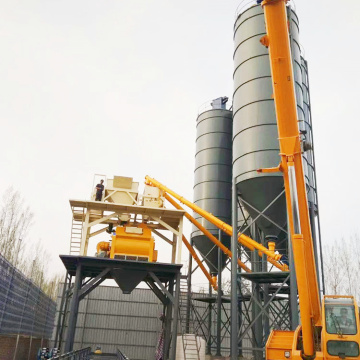 HZS35 ready-mixed bucket type concrete batching plant