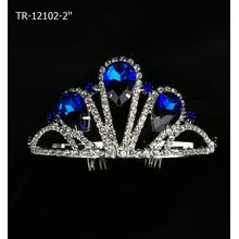 Dark Blue Stone Crowns And Tiaras