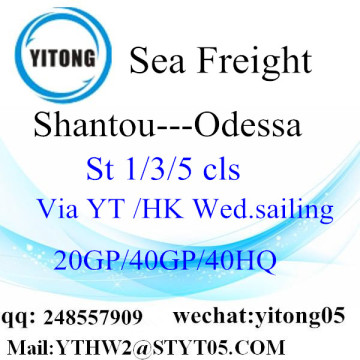Trucking Service From Shantou to Odessa