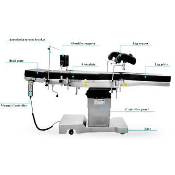 Ultralow 550mm Electric Hydraulic Operating Table